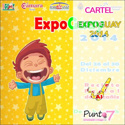 Cartel anunciador de ExpoGuay 2014